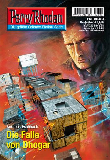 """Episódio 2503: Reginald Bell observa a """"fragmentação"""" da supernave Pretória, composta por 116 naves cúbicas dos pos-bis (Dirk Schulz)"""