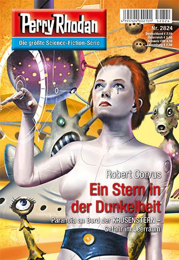"""Episódio 2824: """"Uma Estrela na Escuridão"""" (capa de Swen Papenbrock)"""