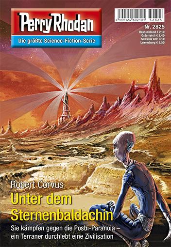 """Episódio 2825: """"Sob o Dossel Estelar"""" (capa de Dirk Schulz)"""
