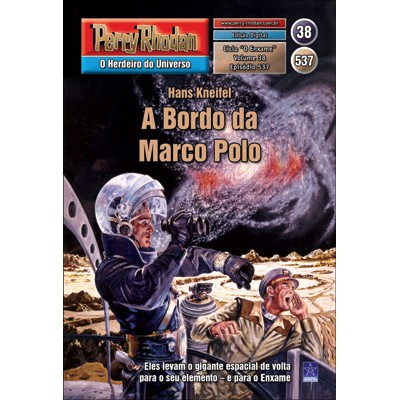 "Capa do episódio 537, ""A Bordo da Marco Polo"""